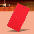 Nillkin Fresh leather Case Bracket Holster Cover Skin for Nokia Lumia 720 - Red