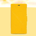 Nillkin Fresh leather Case Bracket Holster Cover Skin for Nokia Lumia 720 - Yellow