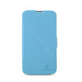 Nillkin Fresh leather Case Holster Cover Skin for Coolpad 9070+XO - Blue