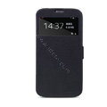 Nillkin Fresh leather Case Holster Cover Skin for Samsung I9200 Galaxy Mega 6.3 - Black