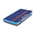 Nillkin Simplicity leather Case Stand Holster Cover Skin for Nokia Lumia 720 - Blue