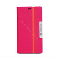 Nillkin Simplicity leather Case Stand Holster Cover Skin for Nokia Lumia 720 - Rose