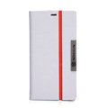 Nillkin Simplicity leather Case Stand Holster Cover Skin for Nokia Lumia 720 - White