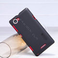 Nillkin Super Matte Hard Case Skin Cover for Sony S36h Xperia L - Black