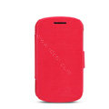 Nillkin Victory leather Case Button Holster Cover Skin for BlackBerry Q10 - Red