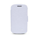 Nillkin Victory leather Case Button Holster Cover Skin for BlackBerry Q10 - White