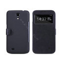 Nillkin Victory leather Case Button Holster Cover Skin for Samsung I9200 Galaxy Mega 6.3 - Black