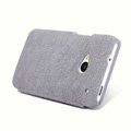 Nillkin leather Case Holster Cover Skin for HTC One 802t - Gray
