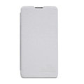 Nillkin leather Case Holster Cover Skin for LG E975 Optimus G - White