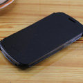 Flip leather Case Holster Cover Skin for Samsung i9250 Galaxy Nexus - Black
