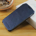 Flip leather Case Holster Cover Skin for Samsung i9250 Galaxy Nexus - Blue