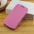 Flip leather Case Holster Cover Skin for Samsung i9250 Galaxy Nexus - Pink