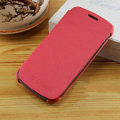 Flip leather Case Holster Cover Skin for Samsung i9250 Galaxy Nexus - Red
