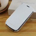 Flip leather Case Holster Cover Skin for Samsung i9250 Galaxy Nexus - White