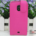 Flip leather Case Holster Cover for Samsung i9250 Galaxy Nexus - Rose