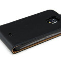 Flip leather Cases Holster Cover for Samsung i9250 Galaxy Nexus - Black