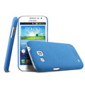 IMAK Cowboy Shell Hard Case Cover for Samsung I869 Galaxy Win - Blue