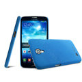 IMAK Cowboy Shell Hard Case Cover for Samsung I9200 Galaxy Mega 6.3 - Blue