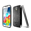 IMAK Mirror Touch Screen leather Cases Cover Skin for Samsung GALAXY S4 I9500 SIV - Black