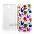 IMAK Painting Relievo Case Palms Battery Cover for Samsung N7100 GALAXY Note2 - Multicolour