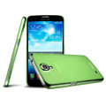 IMAK Ultrathin Clear Matte Color Cover Case for Samsung I9200 Galaxy Mega 6.3 - Green