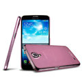 IMAK Ultrathin Clear Matte Color Cover Case for Samsung I9200 Galaxy Mega 6.3 - Pink