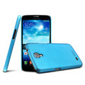 IMAK Ultrathin Matte Color Cover Hard Case for Samsung I9200 Galaxy Mega 6.3 - Blue