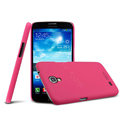 IMAK Ultrathin Matte Color Cover Hard Case for Samsung I9200 Galaxy Mega 6.3 - Rose