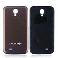 Aluminium Case PC Battery Back Cover Housing For Samsung I9500 GALAXY SIV S4 - Brown