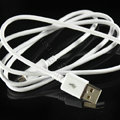 Original Micro USB 2.0 Data Cable For Samsung GALAXY S4 I9500 SIV - White