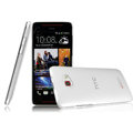 IMAK Crystal Case Hard Cover Transparent Shell for HTC Butterfly S 901e - White