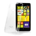 IMAK Crystal Case Hard Cover Transparent Shell for Nokia Lumia 625 - White
