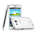 IMAK Crystal Case Hard Cover Transparent Shell for Samsung I869 Galaxy Win - White