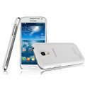 IMAK Crystal Case Hard Cover Transparent Shell for Samsung I9190 GALAXY S4 Mini - White
