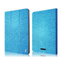 IMAK Slim Flip leather Case support Holster Cover for Google Nexus 7 II - Blue