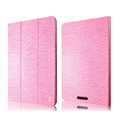 IMAK Slim Flip leather Case support Holster Cover for Google Nexus 7 II - Pink