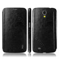 IMAK The Count Flip leather Case Holster Cover for Samsung I9200 Galaxy Mega 6.3 - Black