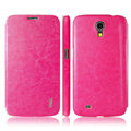 IMAK The Count Flip leather Case Holster Cover for Samsung I9200 Galaxy Mega 6.3 - Rose