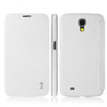 IMAK The Count Flip leather Case Holster Cover for Samsung I9200 Galaxy Mega 6.3 - White