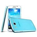 IMAK Ultrathin Clear Matte Color Cover Case for Samsung I9150 Galaxy Mega 5.8 - Blue