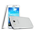 IMAK Ultrathin Clear Matte Color Cover Case for Samsung I9150 Galaxy Mega 5.8 - White