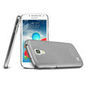 IMAK Ultrathin Clear Matte Color Cover Case for Samsung I9190 GALAXY S4 Mini - Black