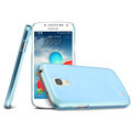 IMAK Ultrathin Clear Matte Color Cover Case for Samsung I9190 GALAXY S4 Mini - Blue