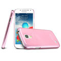 IMAK Ultrathin Clear Matte Color Cover Case for Samsung I9190 GALAXY S4 Mini - Pink