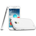 IMAK Ultrathin Clear Matte Color Cover Case for Samsung I9190 GALAXY S4 Mini - White