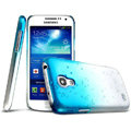 Imak Colorful raindrop Case Hard Cover for Samsung I9190 GALAXY S4 Mini - Gradient Blue