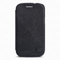Nillkin Flip leather Case Holster Cover Skin for Samsung I8260 I8262 Galaxy Core - Black