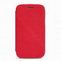 Nillkin Flip leather Case Holster Cover Skin for Samsung I8260 I8262 Galaxy Core - Red