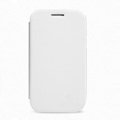 Nillkin Flip leather Case Holster Cover Skin for Samsung I8260 I8262 Galaxy Core - White