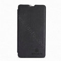 Nillkin Flip leather Case Holster Cover Skin for Sony Ericsson M36h Xperia ZR - Black